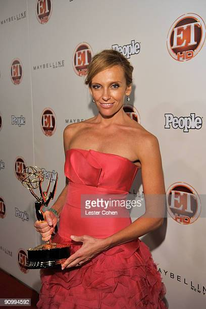 Actress Toni Collette arrives at the 13th Annual Entertainment Tonight and People Magazine Emmys After Party at the Vibiana on September 20 2009 in...