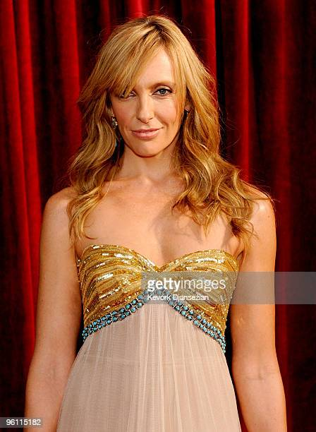 Actress Toni Collette arrives at the 16th Annual Screen Actors Guild Awards held at the Shrine Auditorium on January 23 2010 in Los Angeles California