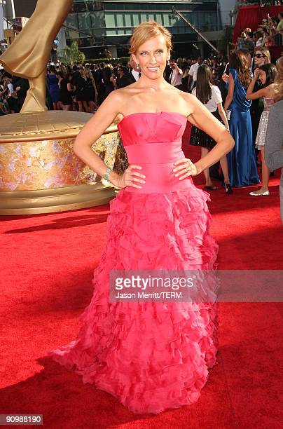 Actress Toni Collette arrives at the 61st Primetime Emmy Awards held at the Nokia Theatre on September 20 2009 in Los Angeles California