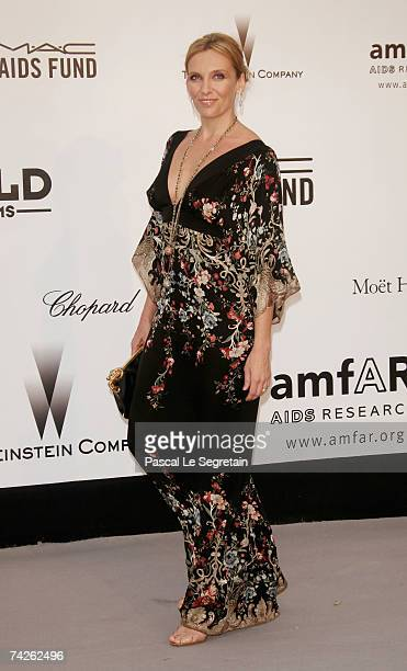 Actress Toni Collette arrives at the Cinema Against Aids 2007 in aid of amfAR at Le Moulin de Mougins in Mougings on May 23 2007 in Cannes France The...