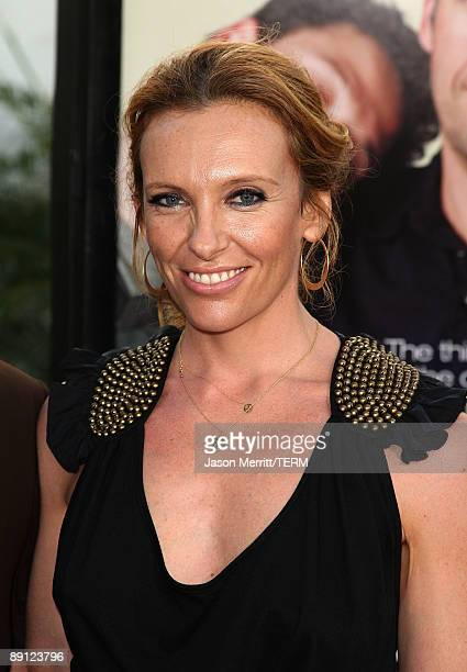 Actress Toni Collette arrives at the premiere Of Universal Pictures' 'Funny People' held at ArcLight Cinemas Cinerama Dome on July 20 2009 in...
