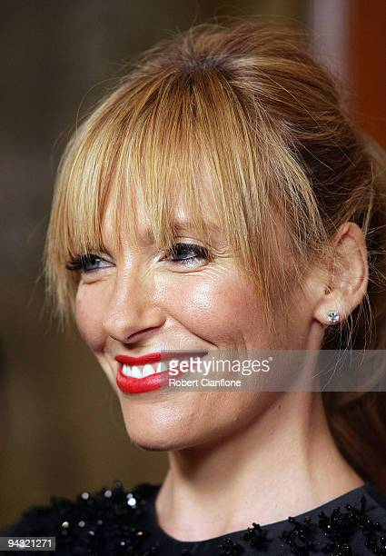 Actress Toni Collette arrives for the 2009 Samsung Mobile AFI Awards at the Regent Theatre on December 12 2009 in Melbourne Australia
