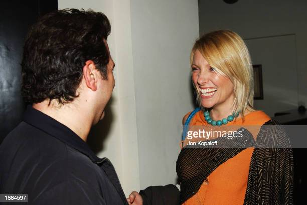 Actress Toni Collette at Killer Films Cinetic Media Section Eight and John Wells Productions' Party for 'Far From Heaven' to celebrate the IFP Spirit...