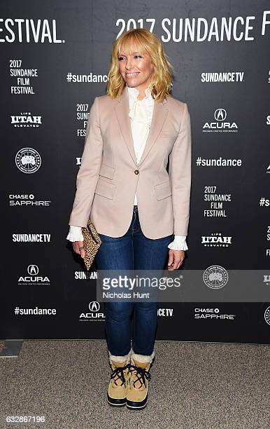 Actress Toni Collette attends 'Fun Mom Dinner' Premiere during the 2017 Sundance Film Festival at Eccles Center Theatre on January 27 2017 in Park...