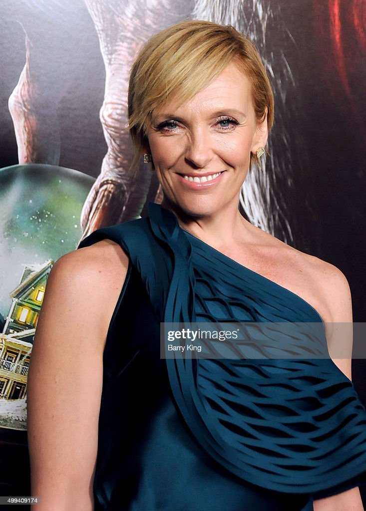 Actress Toni Collette attends industry screening of Universal Pictures' 'Krampus' at ArcLight Cinemas on November 30, 2015 in Hollywood, California.