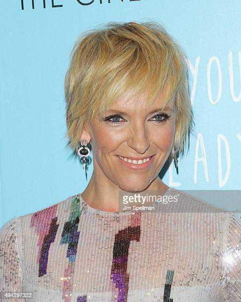 Actress Toni Collette attends Montblanc The Cinema Society host a screening of Roadside Attractions Lionsgate's New York premiere of 'Miss You...
