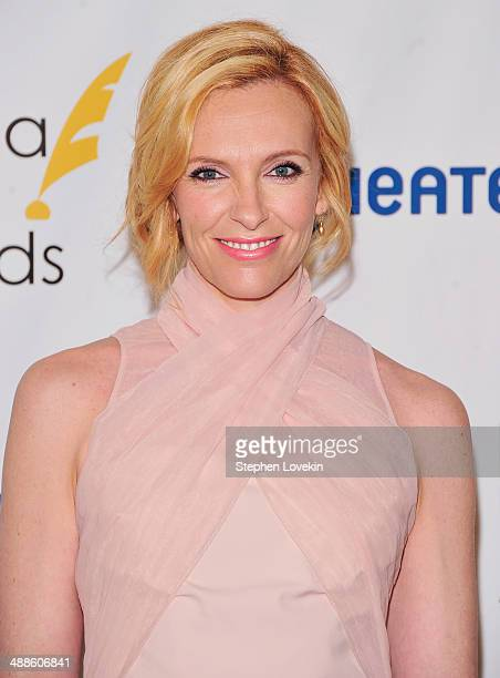 Actress Toni Collette attends the 2014 Drama Desk Awards Nominees Reception at Essex House on May 7 2014 in New York City