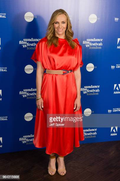 Actress Toni Collette attends the 2018 Sundance Film Festival Filmmaker and Press Breakfast at Picturehouse Central on May 31 2018 in London England