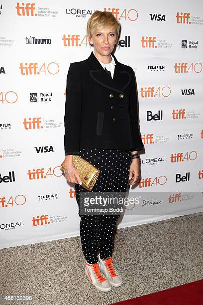 Actress Toni Collette attends the 'Desierto' premiere during the 2015 Toronto International Film Festival held at The Elgin on September 13 2015 in...