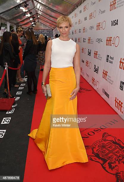 Actress Toni Collette attends the 'Miss You Already' premiere during the 2015 Toronto International Film Festival at Roy Thomson Hall on September 12...