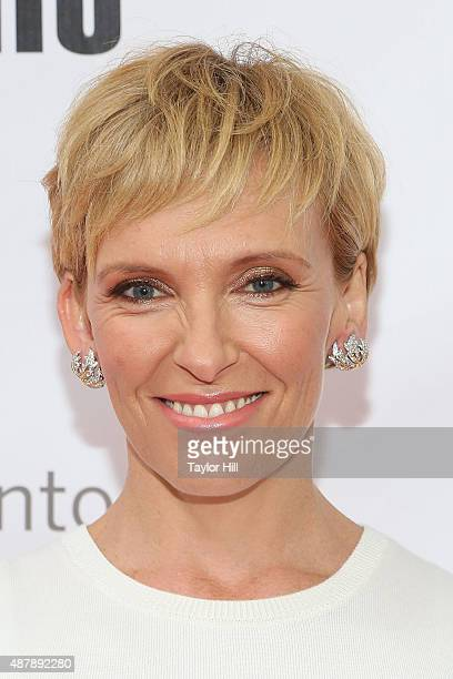 Actress Toni Collette attends the premiere of 'Miss You Already' at Roy Thomson Hall during the 2015 Toronto International Film Festival on September...