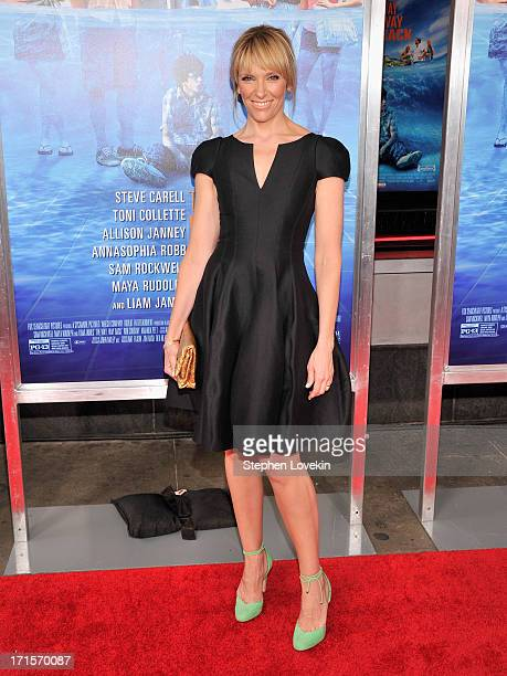Actress Toni Collette attends The Way Way Back New York Premiere at AMC Loews Lincoln Square on June 26 2013 in New York City
