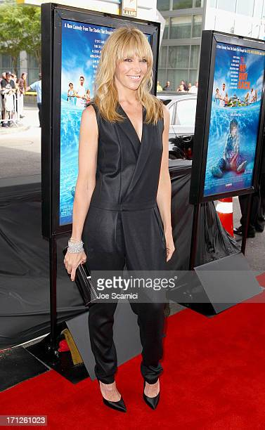 """Actress Toni Collette attends """"The Way, Way Back"""" premiere sponsored by DIRECTV during the 2013 Los Angeles Film Festival at Regal Cinemas L.A. Live..."""
