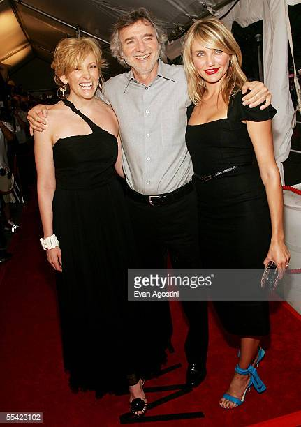 Actress Toni Collette director Curtis Hanson and actress Cameron Diaz attend the gala premiere of In Her Shoes at Roy Thomson Hall on September 14...