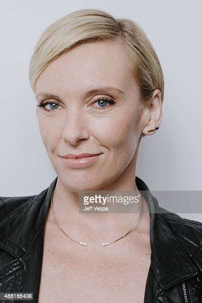 Actress Toni Collette from Miss You Already poses for a portrait at the 2015 Toronto Film Festival at the TIFF Bell Lightbox on September 12 2015 in...