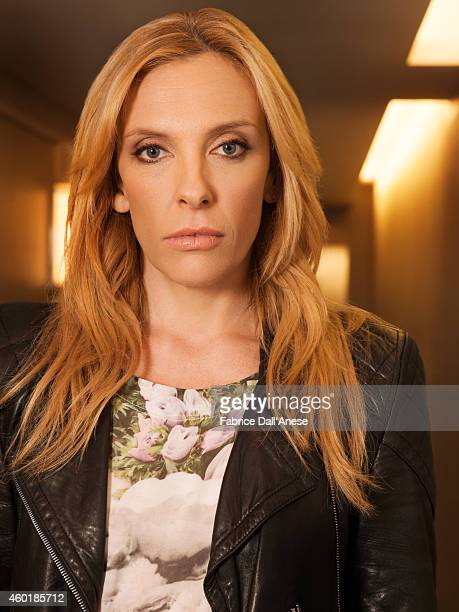 Actress Toni Collette is photographed for Vanity Fair Italy on April 23 2014 in New York City