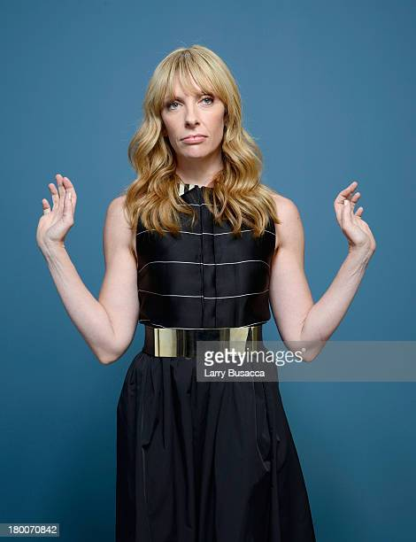 Actress Toni Collette of 'Enough Said' poses at the Guess Portrait Studio during 2013 Toronto International Film on September 7 2013 in Toronto Canada