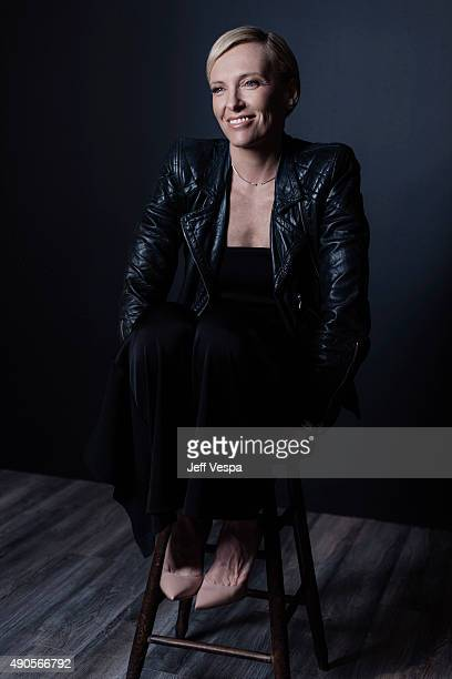 Actress Toni Collette of 'Miss You Already' poses for a portrait at the 2015 Toronto Film Festival at the TIFF Bell Lightbox on September 15 2015 in...