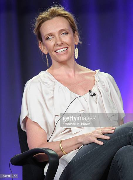 Actress Toni Collette of the television show 'United States of Tara' attends the CBS Showtime portion of the 2009 Winter Television Critics...