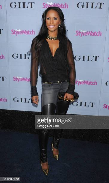 Actress Toni Duclottni arrives at the People StyleWatch Denim party at Palihouse on September 19 2013 in West Hollywood California