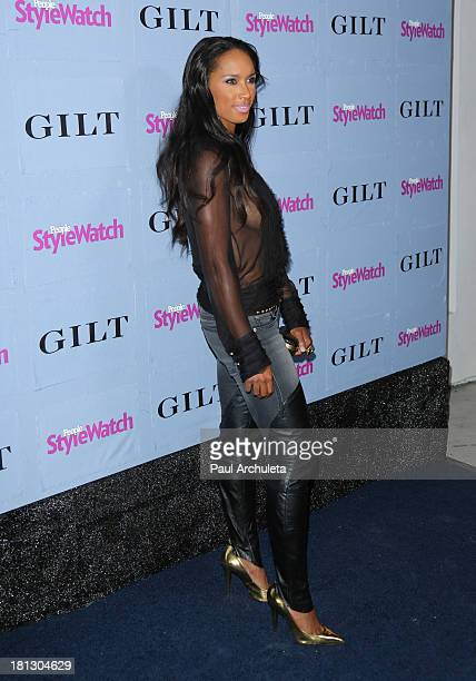 Actress Toni Duclottni attends the People StyleWatch 3rd annual Denim Issue party at Palihouse on September 19 2013 in West Hollywood California