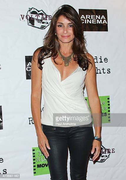 Actress Toni Romano Cohen attends the premiere of 'Miles To Go' at Arena Cinema Hollywood on May 15 2015 in Hollywood California