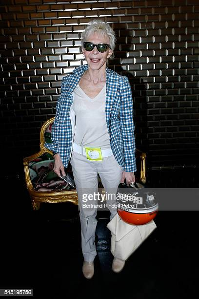 Actress Tonie Marshall attends the Jean Paul Gaultier Haute Couture Fall/Winter 20162017 show as part of Paris Fashion Week on July 6 2016 in Paris...