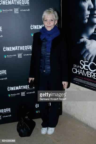 Actress Tonie Marshall attends the Le secret de la chambre noire Paris Premiere at Cinematheque Francaise on February 6 2017 in Paris France
