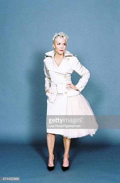 Actress Tonie Marshall is photographed for Madame Figaro on April 20 2015 in Paris France Jacket and skirt PUBLISHED IMAGE CREDIT MUST READ Lisa...