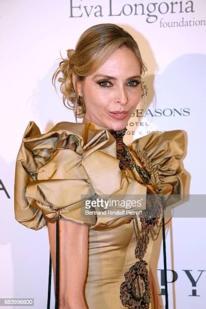 Actress Tonya Kinzinger attends the 'Global Gift the Eva Foundation' Gala Photocall at Hotel George V on May 16 2017 in Paris France