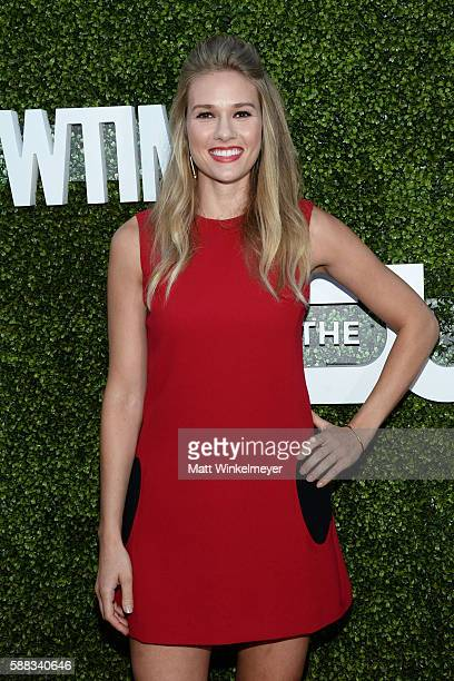 Actress Tori Anderson arrives at the CBS CW Showtime Summer TCA Party at Pacific Design Center on August 10 2016 in West Hollywood California