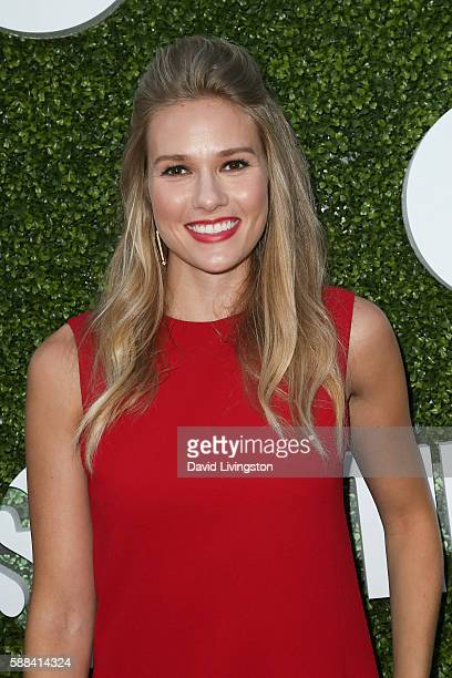 Actress Tori Anderson arrives at the CBS CW Showtime Summer TCA Party at the Pacific Design Center on August 10 2016 in West Hollywood California