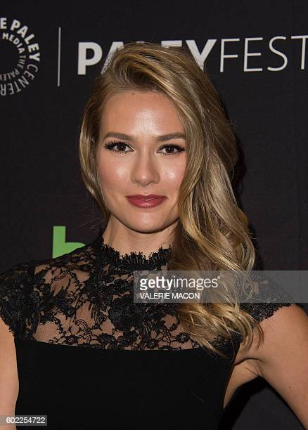 Actress Tori Anderson attends the screening of CW No Tomorrow at The Tenth Annual PaleyFest Fall TV Previews presented by The Paley Center For Media...