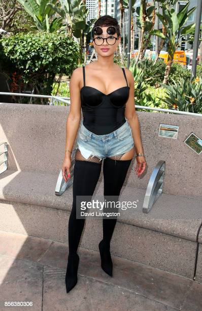Actress Tori Brixx attends the 3rd Annual Amber Rose SlutWalk on October 1 2017 in Los Angeles California