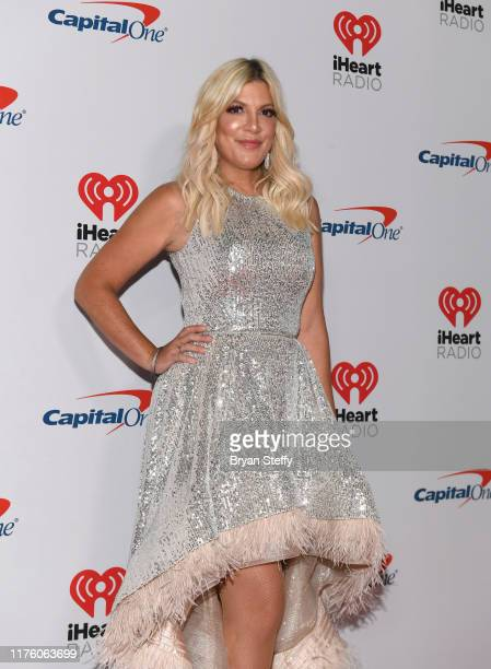 Actress Tori Spelling attends the 2019 iHeartRadio Music Festival and Daytime Stage at T-Mobile Arena on September 20, 2019 in Las Vegas, Nevada.