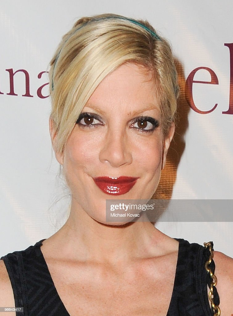 Actress Tori Spelling attends the 7th anniversary celebration of the Belle Gray Boutique on February 12, 2010 in Los Angeles, California.