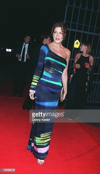 Actress Tori Spelling attends the 7th annual Jack Webb Awards honoring Aaron Spelling David Gerber Kent McCord Martin Milner October 14 2000 at...