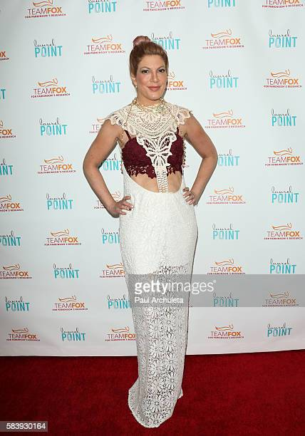 Actress Tori Spelling attends the 'Raising The Bar To End Parkinson's' at Laurel Point on July 27 2016 in Studio City California