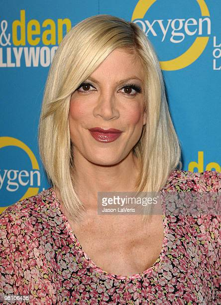 Actress Tori Spelling attends Tori Dean's spring party at Fairmont Miramar Hotel on March 28 2010 in Santa Monica California