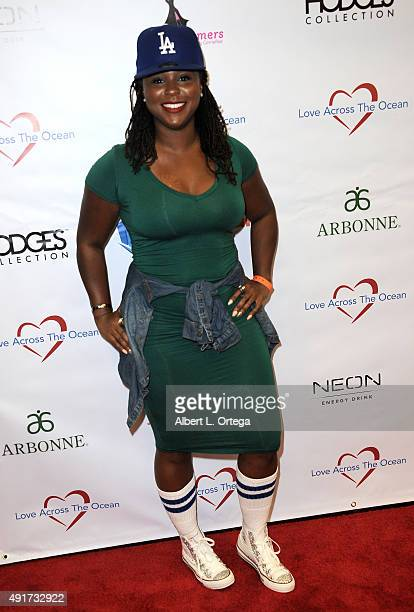 Actress Torrei Hart at the Celebrity Poker Tournament To Benefit Love Across The Ocean held at Commerce Casino on October 3 2015 in City of Commerce...