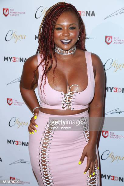 Actress Torrei Hart attends Blac Chyna Figurine Doll Launch on August 17 2017 in Los Angeles California