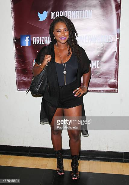 Actress Torrei Hart attends the Celebrity Basketball Game on June 20 2015 in Reseda California