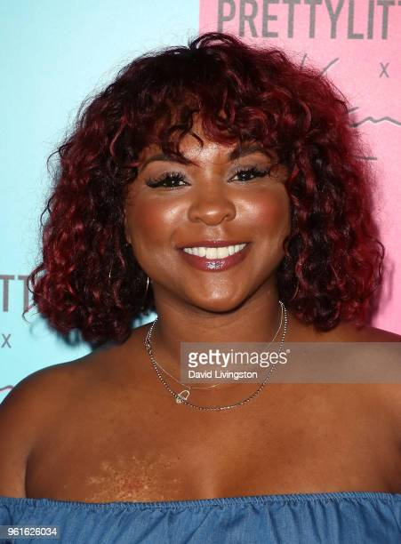 Actress Torrei Hart attends the PrettyLittleThing x Karl Kani event at Nightingale Plaza on May 22 2018 in Los Angeles California