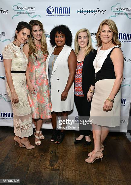 Actress Torrey DeVitto Actress Rachel McCord Vice President Global PR Social Media and Charity at philosophy Tiffani CarterThompson Blogger Jamie...