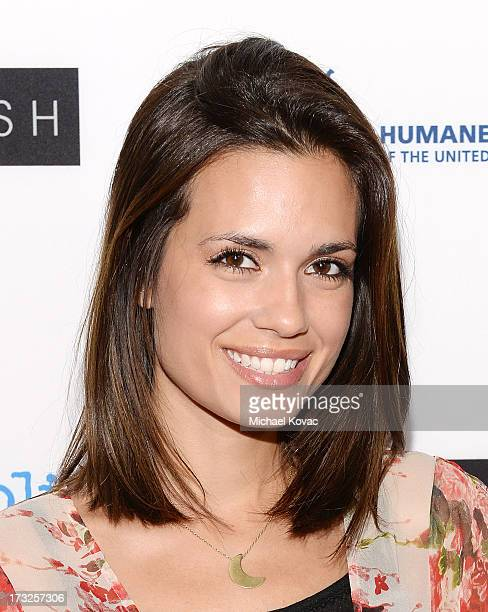 Actress Torrey DeVitto arrives at Magnolia Pictures Los Angeles Premiere of 'Blackfish' at ArcLight Cinemas on July 10 2013 in Hollywood California