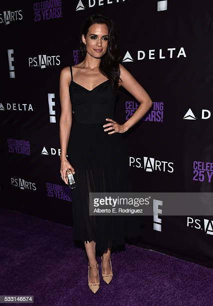 Actress Torrey DeVitto attends PS Arts' The pARTy at NeueHouse Hollywood on May 20 2016 in Los Angeles California