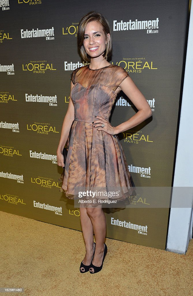 Actress Torrey Devitto attends The 2012 Entertainment Weekly Pre-Emmy Party Presented By L'Oreal Paris at Fig & Olive Melrose Place on September 21, 2012 in West Hollywood, California.