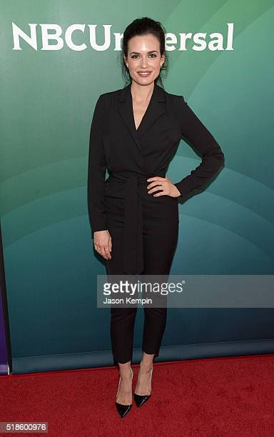 Actress Torrey DeVitto attends the 2016 NBCUniversal Summer Press Day at Four Seasons Hotel Westlake Village on April 1 2016 in Westlake Village...