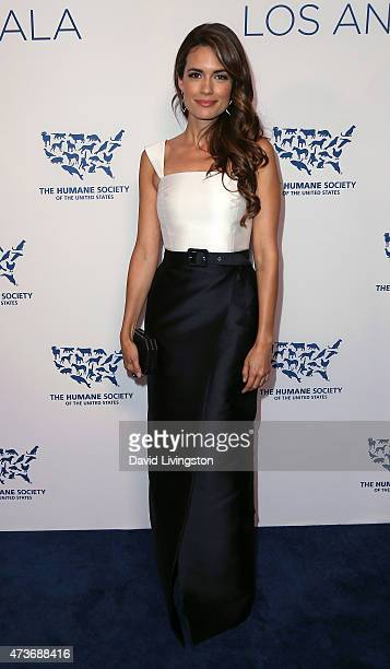 Actress Torrey DeVitto attends the Humane Society of the United States' Los Angeles Benefit gala at the Regent Beverly Wilshire Hotel on May 16 2015...