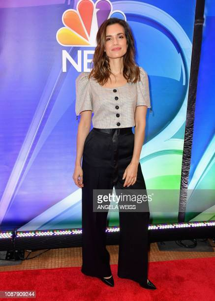 Actress Torrey DeVitto attends the NBC midseason press junket at The Four Seasons in New York on January 24 2019